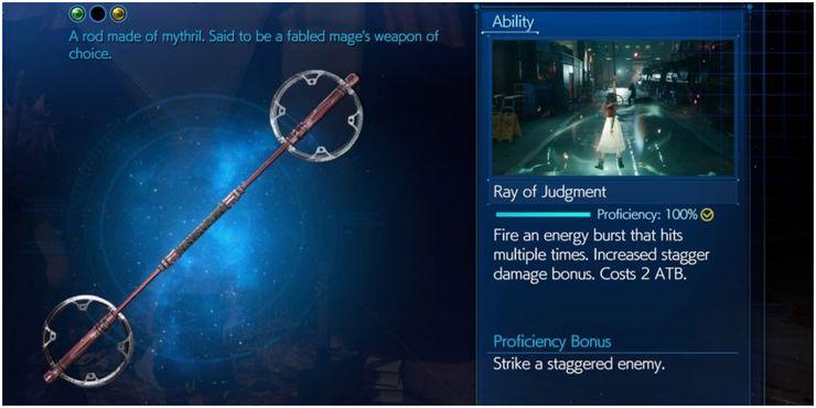 Dua Senjata Yang Bukan Terbaik Tetapi Tidak Bisa Dianggap Remeh Untuk Aerith Di Final Fantasy 7 Remake