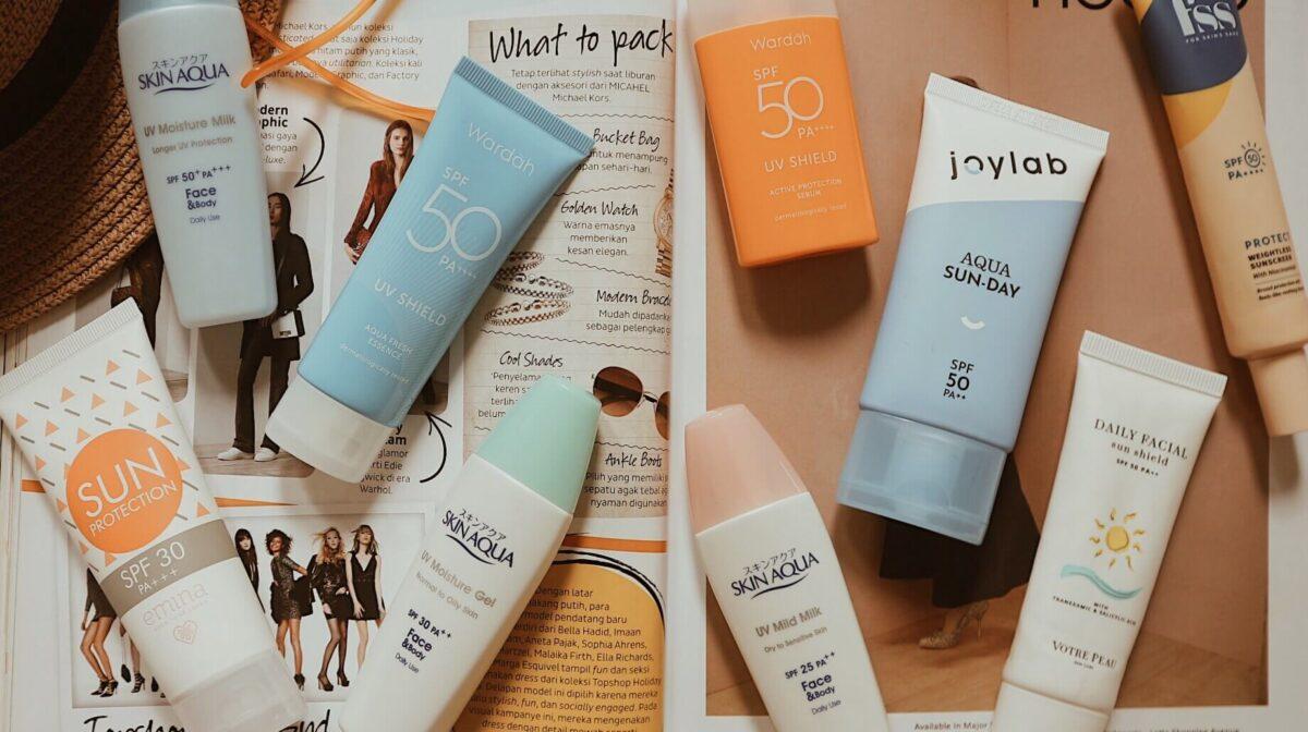 Sunscreen Menjadi Salah Satu Kebutuhan Penting Untuk Kulit